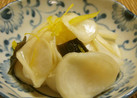 簡単^^柚子風味蕪(かぶ)のお漬物