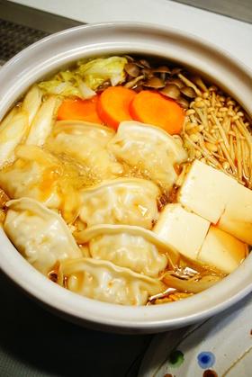 ✿餃子鍋☆ピリ辛ポン酢味✿