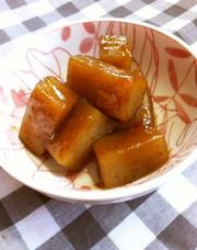 こんにゃくの味噌煮の写真