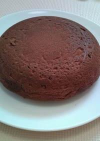 炊飯器でふわふわココアケーキ