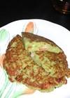 さつま芋のお好み焼き