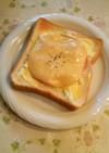 簡単♪キャベマヨ&ハムチーズトースト