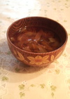 母の味♪キャベツの味噌汁