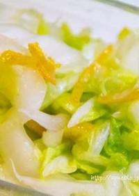 【糖質制限】白菜の甘サラダ