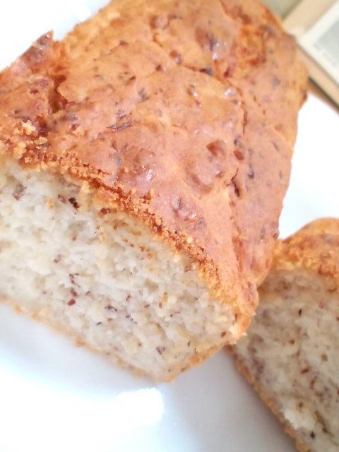 甘味料0のもっちり米粉甘酒パウンドケーキ