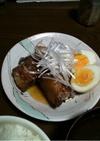 角煮の黒酢酢豚