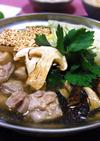 鶏肉と松茸の鍋!! 土瓶蒸し風!!
