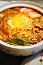 ✿味噌煮込みうどん鍋✿の写真
