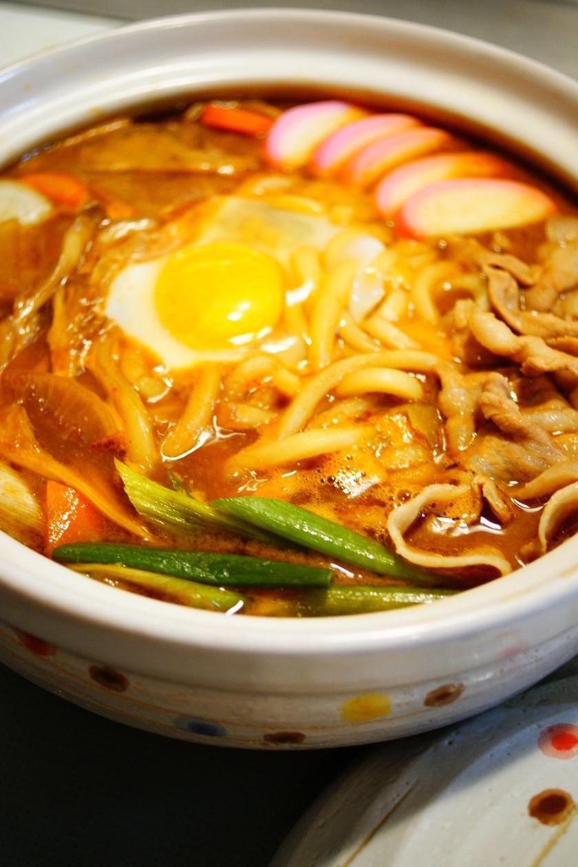 ✿味噌煮込みうどん鍋✿