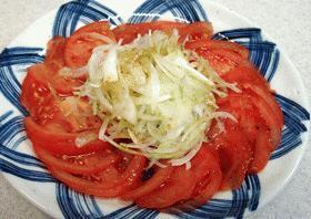 簡単・トマトサラダ