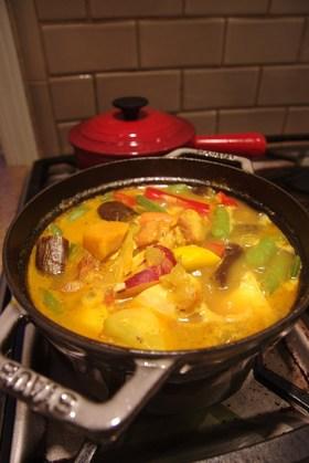 ローズ家の野菜のモロッコ風煮込み