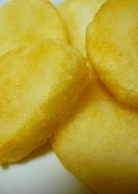 粗めの米粉でカリッモチッ☆おかき風揚げ餅