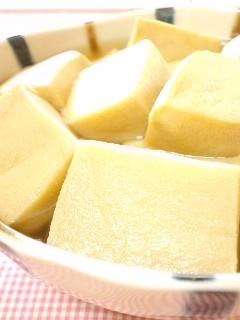 京風♪お上品なふんわり高野豆腐の煮物♡