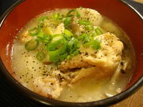 簡単★美味★鶏手羽元のサムゲタン風