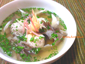 ぽかぽか肉団子スープ