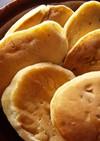 米粉入りバナナホットケーキ