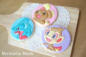 キャラアイシングクッキー