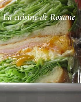 レタスたっぷりサンドイッチ