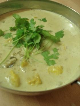 インド料理:白身魚のココナッツカレー