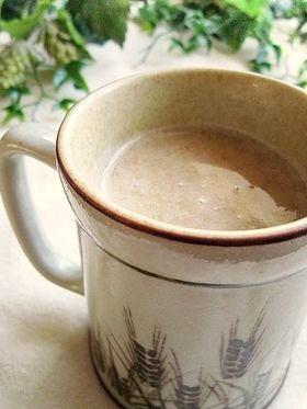 Hotで♪とろけるバナナ豆乳カフェ