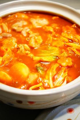 ✿トマトカレー鍋✿