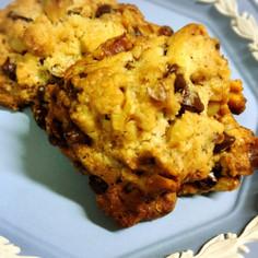 甘さ控えめチョコチップクッキー