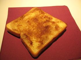 女子必見! 冬の朝のトースト