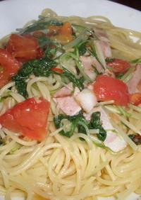 トマトのペペロンチーノ