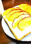 アップル*ハニーのトースト
