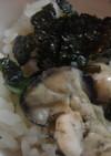 牡蠣の炊き込みご飯☆
