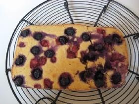 おから粉とヨーグルトを使ったケーキ