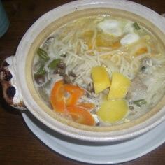 煮込んでおいしい♪温麺(にゅうめん)♪
