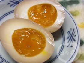 とろんっとろん! 煮ないけど半熟煮卵