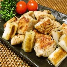 鶏肉と白ネギの柚子胡椒焼き