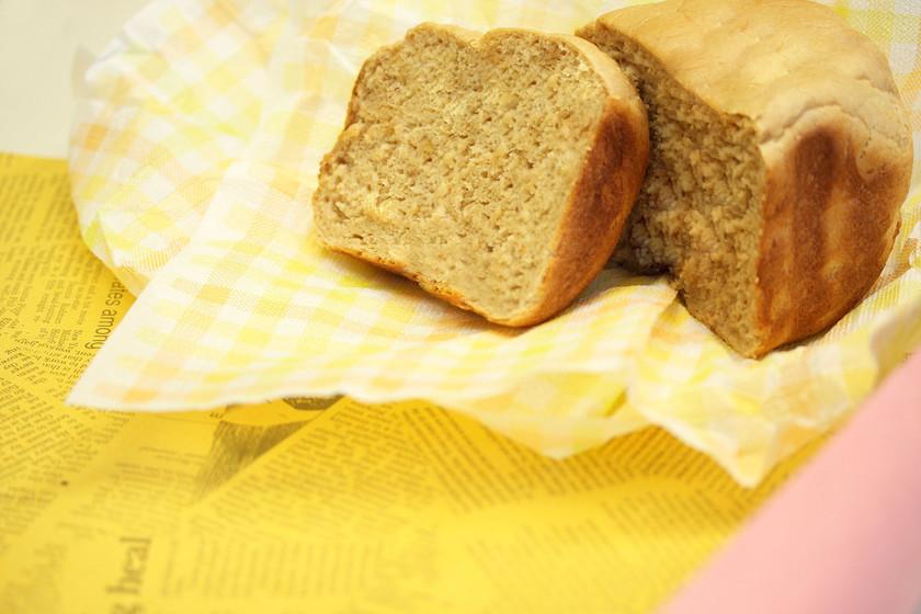 簡単もちもちしっとりの玄米パン【HB】