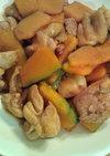 簡単!鶏肉とかぼちゃの甘辛炒め
