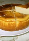 ミキサーで楽ちん♪べイクドチーズケーキ