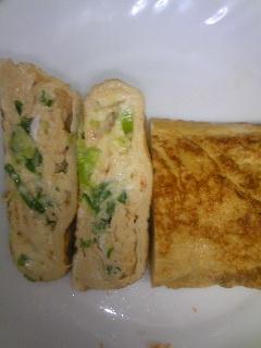 ✿簡単うまうま✿葱チーズ七味の卵焼き