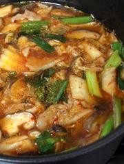 コチュジャン救済★豚キムチ鍋スープの写真