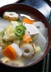 生姜であったか♪伝統の味『のっぺい汁』
