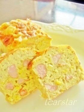 惣菜ケーキ☆おからケークサレ ドイツ風味