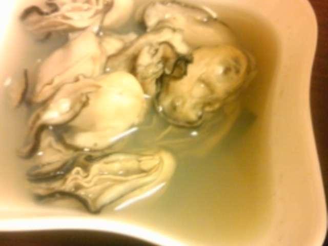 牡蠣 の 酒 蒸し