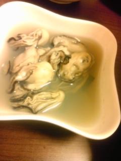 牡蠣フェチに贈る~牡蠣の酒蒸し