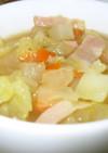 野菜たっぷりの食べるスープ