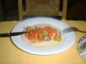 ポークファヒタス(メキシコ料理)