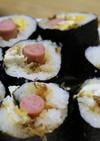 こども大好き♪ポールウィンナー巻き寿司