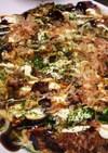 豆乳&豆腐で作る焼きそば入りお好み焼き