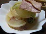 めちゃ簡単!大根・白菜・ベーコンの重ね煮の写真