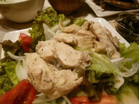 ルクエ(シリコンスチーマー)で塩鶏