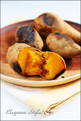 ストウブ料理「安納芋の焼き芋」